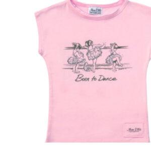 T-shirt Miss Ellie Born to dance