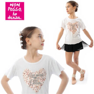 T-shirt bimba CUORE