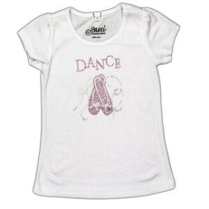 T-shirt Sassi Punte Strass